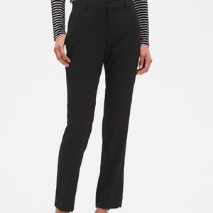 BLACK Banana Republic Ryan Curvy Pants